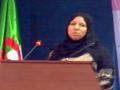 Communication présentée par Mme ICHALAL Keltoum, L.Z.A, Univ. Bejaia