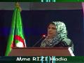 Communication présentée par RIZI Hadia, Univ. El Tarf