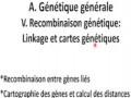 Cours N° 5: Génétique générale. V- Recombinaisons génétiques: Linkage et carte génétique