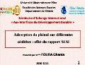 Conférence de Melle FOURA Ghania