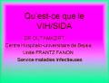 Communication du Dr OUTAMAZIRT C.H.U.de BEJAIA, Unité Frantz Fanon, Service maladies Infectieuses