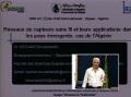 Communication du Dr KECHAR Bouabdellah enseignant chercheur -université d'Oran