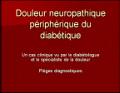 Communication sur la douleur neuropathique périphérique du diabétique
