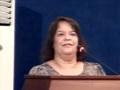 Prise de parole Melle Dalila BABA AISSA sur la cérémonie de Fin d'Année Universitaire 2013