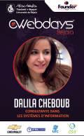 Gestion d'une équipe Communication présentée par Dalila CHEBOUB