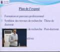 Soutenance d'habilitation à diriger des recherches du Dr SOUICI Alhafid