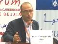 Conférence du Pr AIT MOKHTAR Omar, au 3ème congrès de cardiologie de Bejaia.