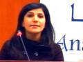 Conférence de Mme Assia Mohdeb