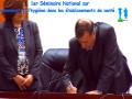 Signature de la Charte, 1er Séminaire National sur l'environnement et l'hygiène dans les établissements de santé