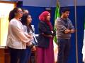 Exposé vidéo sur l'état des routes, par des étudiantes, L3 Biologie (Biochimie)