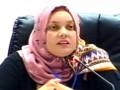 مداخلة الدكتورة  بويحياوي أمال، أستاذة مساعدة ب، جامعة الطارف