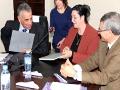 Allocutions d'ouverture de l'atelier régional sur le laboratoire associé et signature de conventions (UAMB-DPRH), (DFP-DPRH)