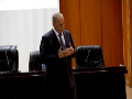Une conférence animée par Dr Rachid AMOKRANE, au niveau de l'Auditorium du Campus Aboudaou.
