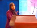 Communication présentée par Mme  BOUCHRAKI Faiza, Doctorante (LMD) équipe 2