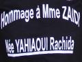 Cérémonie de l'hommage à la défunte Mme ZAIDI Rachida née YAHIAOUI