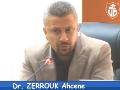 Conférence animée par: Dr ZERROUK Ahcene, Université de Béjaïa