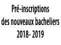 Reportage sur les préinscriptions des nouveaux bacheliers 2018 – 2019