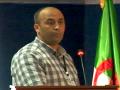 Communication présentée par BOUCHEKER Abdennour, Univ. El Tarf