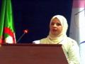 Communication présentée par Mme HAFIR-MANSOURI Dalia, L.Z.A, Univ. Bejaia