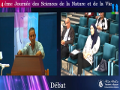 Débat de la conférence présentée par Pr. DJENANE Djamel,  Université de Tizi-Ouzou