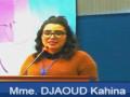Communication présentée par DJAOUD Kahina