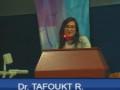 Communication présentée par Dr TAFOUKT R.