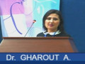 Communication présentée par Dr GHAROUT A.