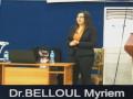 Soutenance de thèse de (DESM) Docteur d'état en sciences médicales du Dr BELLOUL Myriem