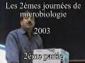 les 2èmes journée des microbiologie 2ème Partie