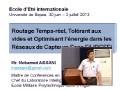 Communication du Dr Mohamed AISSANI Maitre de Conférence en Informatique ; Chef du (LIA) à l'EMP, Alger Part1
