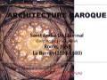 Cours de 2ème année architecture, intitulé Architecture Baroque, Animé par Mr MERZEG Abdelkader