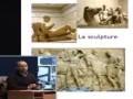 Cours de 1ère année architecture, intitulé la sculpture et la peinture,  présenté par DJERMOUNE Hocine