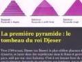 Cours de 1ère année architecture, intitulé l'egypte ancienne, animé par DJERMOUNE Hocine