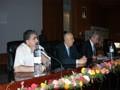 Débat sur la conférence de Mr OUARET (PDG de la société VERITAC)