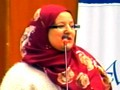 Conférence du Dr. Nadia Ahouari-Idri