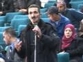 Débat, Assemblée Générale de la commission des oeuvres sociales, campus Targa ouzemour