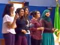 Exposé vidéo sur  la création de l'éspace de lecture par des étudiantes, L3 Biologie (Biochimie)