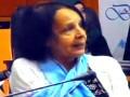Conférence de Mme MAAMRI Atika, Présidente de la Fédération Algérienne des Personnes H