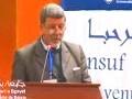 Débat autour, de la conférence animée par: RADJEF Mohammed Said, groupe 7 et groupe 8, CROS, Université de Bejaia