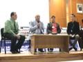 Table ronde, sur la démocratie participative,animée par des représentants de la société civile et ceux de l'administration locale