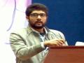 Communication présentée par Mr  BARA Mouslim, Univ. Bouira