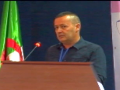 Communication présentée par Mr MANSOURI Hafed Eddine, Univ. Bejaia