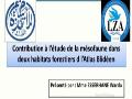 Communication présentée par: Mme ESSERHANE Warda, ENS, Alger