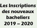 Reportage sur les Inscriptions des nouveaux bacheliers 2019.