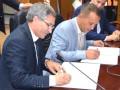 Signature de convention entre l'Université de Bejaia et le Centre Universitaire d'Iizi