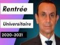 Allocution de Monsieur le recteur de l'université Abederrahmane MIRA Bejaia à l'occasion de la rentrée universitaire 2020-2021